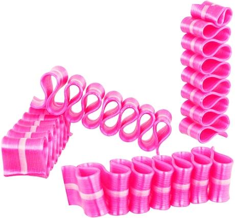 pink ribbon candy .. yum!